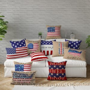 Patriotic Pillow Cover Collection